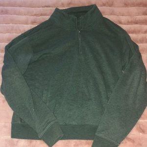 Victoria's Secret Quarter Zip Sweatshirt